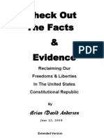 Check Out the Facts and Evidence