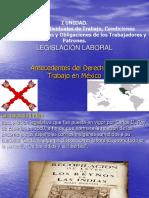 Historia Del Derecho Del Trabajo en Mexico - Copia