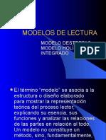MODELOS DE LECTURA PRESENTACIÓN