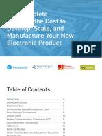 Coste manufactura electrónica