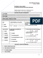 Passport Form 2018-Renewal