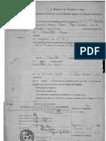 Le jugement d'adoption du jeune Jean-François Moullec
