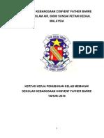 Kertas Kerja Penubuhan Kelab Pelancongan Sekolah Kebangsaan Convent Father Barre Tahun