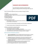 Recent Diagnostic Aids in Periodontics