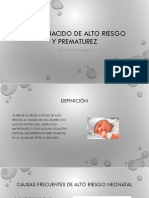 RECIEN NACIDO DE ALTO RIESGO Y PREMATUREZ.pptx