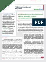 How the histamine N-methyltransferase  inhibitor metoprine alleviates  methamphetamine reward