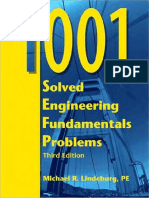 267854737 1001 Solved Engineering Fundamentals Problems Michael Lindeburg PDF