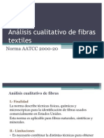 analisis de fibras