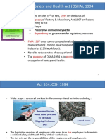 Chapter 2-2 - OSHA Act 1994