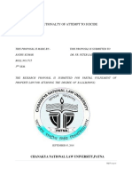 Constitutionalty of Attempt to Suicide Ipc
