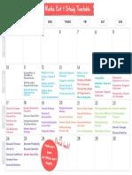 Atomi Study Timetable Ext1 Maths 2016