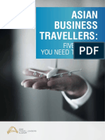 Asian Business Travellers Five Things You Need to Know