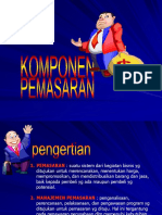 Komponen Pemasaran