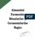 ALMANAHUL FARMECELOR, RITUALURILOR SI CEREMONIALURILOR MAGICE.docx
