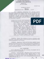 QC Ordinance No. SP-2559, S-2017
