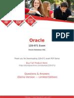 1Z0-071 Exam Dumps | 100% Updated 1Z0-071 Questions PDF