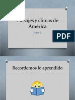 Paisajes y Climas de América 2
