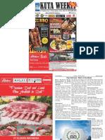 "Kuta Weekly - Edition 584 ""Bali's Premier Weekly Newspaper"""