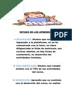 ESTADO DE LOS APRENDICES