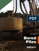 Technology Bored Piles Soilmec Technology