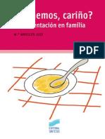 _Comemos, Carino_ La Alimentación en Familia - María Angeles Juez