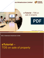 ETutorial TDS on Property Etax-immediately