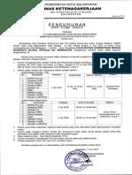 Pengumuman Peserta Lulus Administrasi Pelatihan Ppsdm Migas