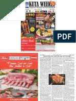 "Kuta Weekly - Edition 589 ""Bali's Premier Weekly Newspaper"""