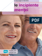 The Early Stages of Dementia_ROMANIAN