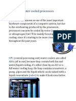 Water cooled processors.docx