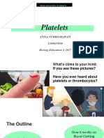 Platelets on Blood Clotting_anisa Nurrismawati_1304617010