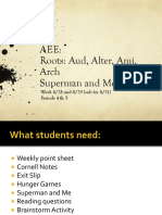 AEE - Aud, Alter, Ami, Arch, and Roots Trees.pptx