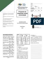 Folder de Educação Física