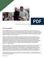 ¿Es Esto Justicia_ Carta de Monseñor Olivera