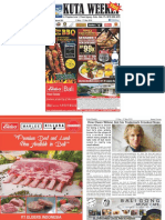 "Kuta Weekly - Edition 591 ""Bali's Premier Weekly Newspaper"""