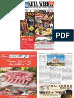 "Kuta Weekly - Edition 593 ""Bali's Premier Weekly Newspaper"""