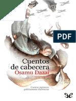 Osamu Dazai - Cuentos de cabecera