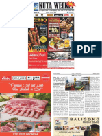 "Kuta Weekly - Edition 594 ""Bali's Premier Weekly Newspaper"""
