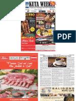 "Kuta Weekly - Edition 597 ""Bali's Premier Weekly Newspaper"""