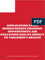 AF HRT Opportunity - Air Pollution and Its Impact to Children's Health.docx