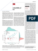 Reproducibility in Science Research