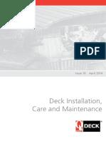 Build a Deck Installing