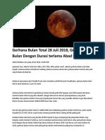 Gerhana Bulan .doc