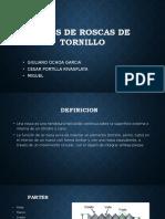 TIPOS DE ROSCAS DE TORNILLO.pptx