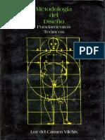 Metodologia Del Diseno Fundamentos Teoricos Luz Del Carmen Vilchis PDF