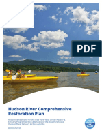 The Hudson River Comprehensive Restoration Plan for the Hudson River estuary