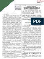 Decreto Legislativo que fortalece el Sistema Nacional de Evaluación y Fiscalización Ambiental