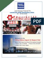 Canton Fair 2018 Guangzhou China