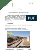 Recomendação nº 7 - URBANIZAÇÃO MONTE HILÁRIO - VEDAÇÃO