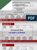 Presentacion Cap 10 - 11 (Edgar O. Ladino M.)